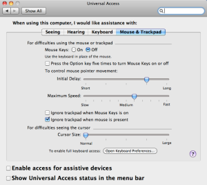 Ignore Trackpad when mouse is present (click to enlarge)