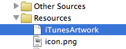 Ad Hoc Build with icon