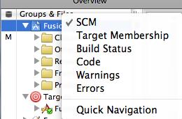 Adding SCM status column