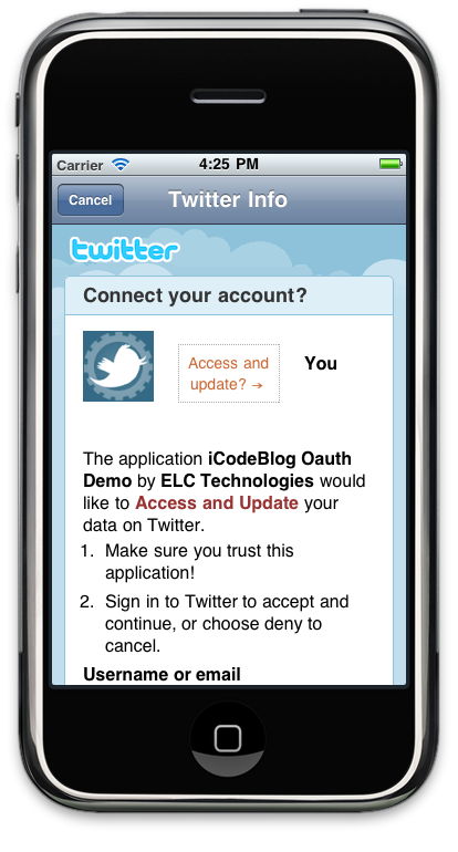Twitter OAuth Tutorial